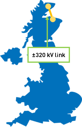 Caithness-Moray HVDC link in northern Scotland